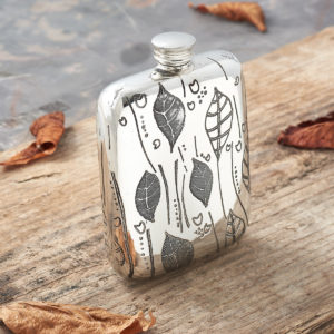 Personalized Natural Hip Flask Collection