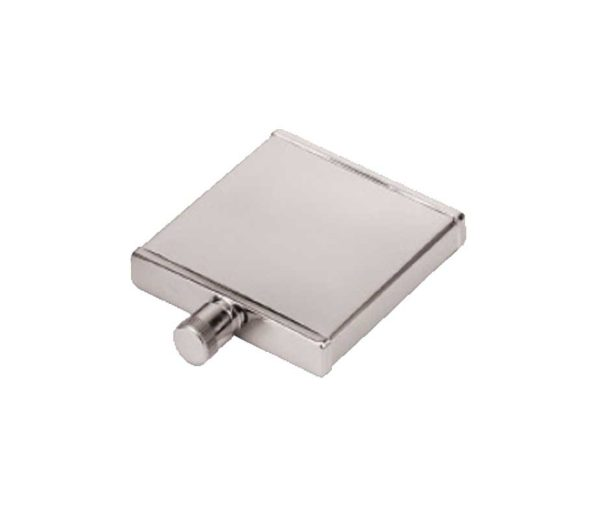 Ladies Thin Engraved Hip Flask with Free Engraving