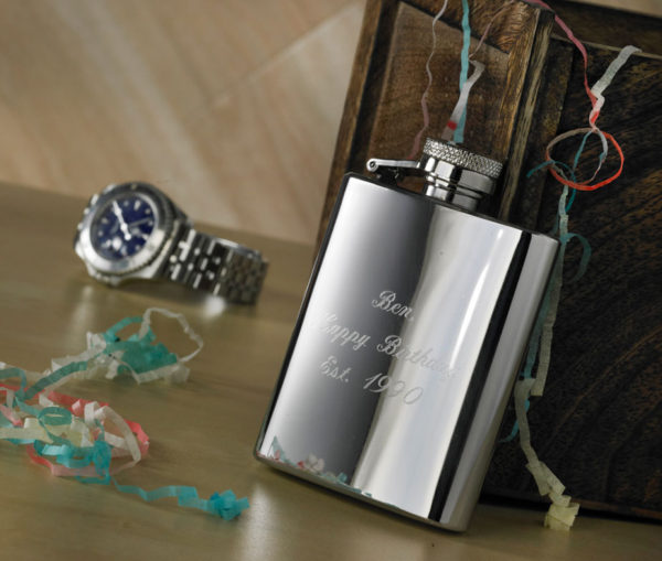 3oz Personalized Hip Flask with Free Engraving 1