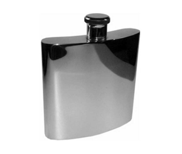 Giant 26oz Pewter Engraved Hip Flask with free engraving