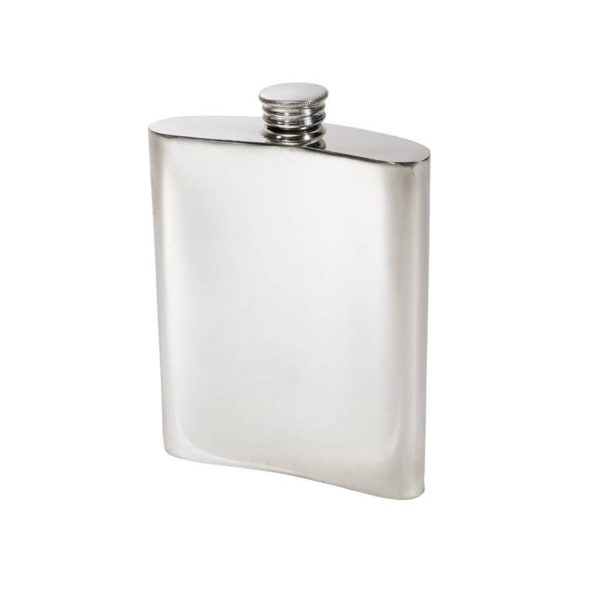 The Personalized 6 oz Welsh Dragon Pewter Kidney Hip Flask